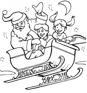 coloring page Christmas - Santa Claus (18)