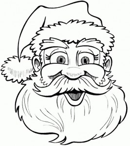 coloring page Christmas - Santa Claus (23)