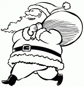 coloring page Christmas - Santa Claus (25)