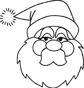 coloring page Christmas - Santa Claus (3)