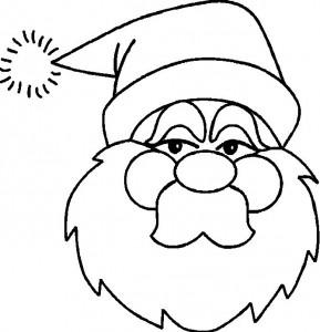 målarbok Jul - jultomten (3)
