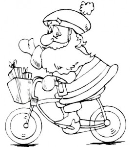 målarbok Jul - jultomten (37)
