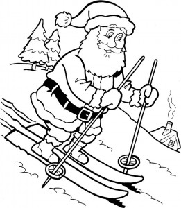 coloring page Christmas - Santa Claus (39)