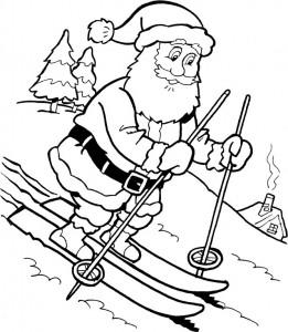 målarbok Jul - jultomten (39)