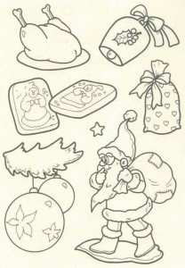 coloring page Christmas - Santa Claus (40)