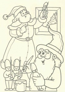 coloring page Christmas - Santa Claus (42)