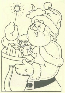 coloring page Christmas - Santa Claus (46)