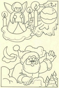 coloring page Christmas - Santa Claus (47)