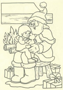 coloring page Christmas - Santa Claus (48)