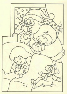 coloring page Christmas - Santa Claus (50)