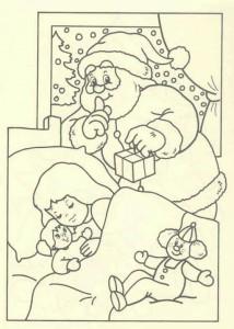 målarbok Jul - jultomten (50)