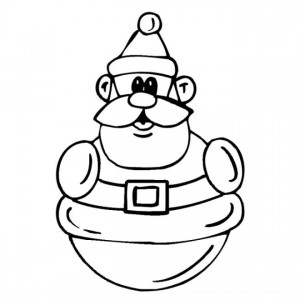 coloring page Christmas - Santa Claus (53)