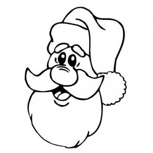 kleurplaat Kerstmis - de Kerstman (54)