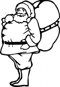 coloring page Christmas - Santa Claus (61)