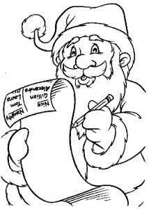 coloring page Christmas - Santa Claus (8)