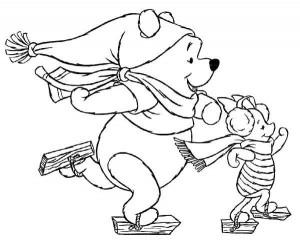 coloring Christmas Disney (1)