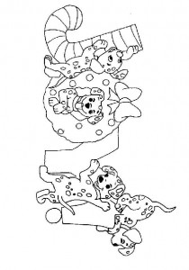 coloring Christmas Disney (12)