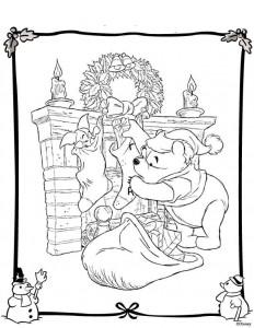 coloring Christmas Disney (14)