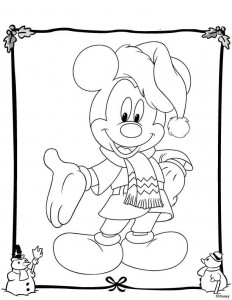 coloring Christmas Disney (15)