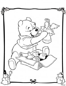 coloring Christmas Disney (19)