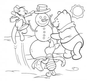 coloring Christmas Disney (22)