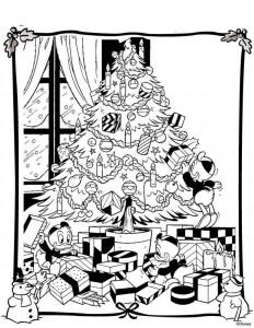 coloring Christmas Disney (25)