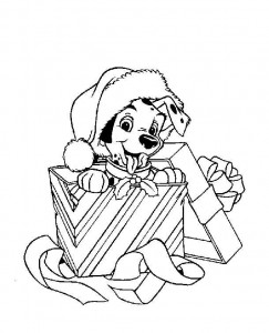 coloring Christmas Disney (37)