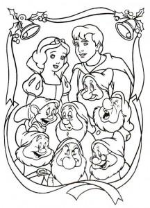 coloring Christmas Disney (40)