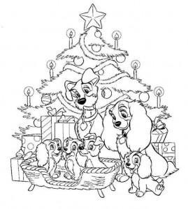 coloring Christmas Disney (44)