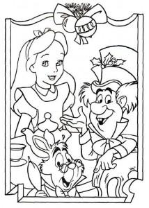 coloring Christmas Disney (47)