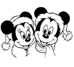 coloring Christmas Disney (6)
