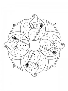 målarbok Julmandala (7)