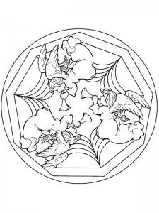 målarfärg julmandala änglar (1)