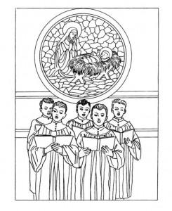 målarbok Jul (traditionell) (1)