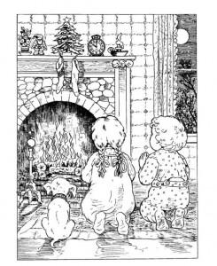 målarbok Jul (traditionell) (3)