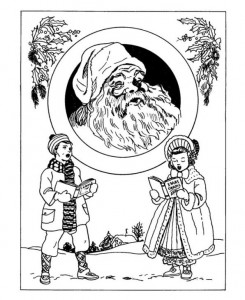 målarbok Jul (traditionell) (4)