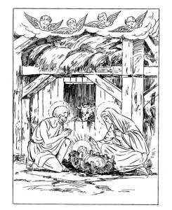 målarbok Jul (traditionell) (9)