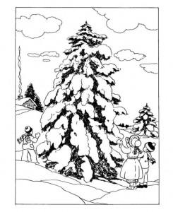 målar jul (traditionell)