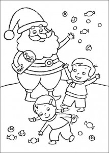 målar jul godis