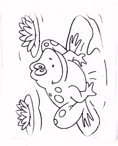 coloring page Frogs (2)
