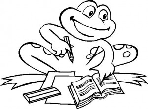 coloring page Frogs (23)