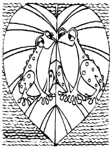 coloring page Frogs (24)