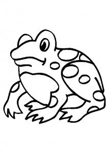 coloring page Frogs (6)