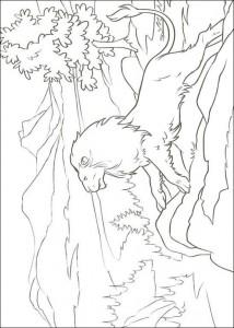 målarbok King Aslan