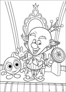 χρωματική σελίδα βασίλισσα καραμέλα 2