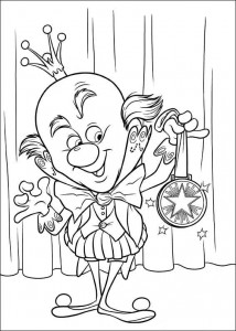 king candy coloring page