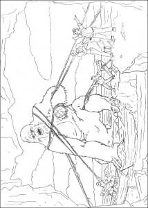 kleurplaat King Kong (12)
