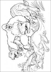 kleurplaat King Kong (13)