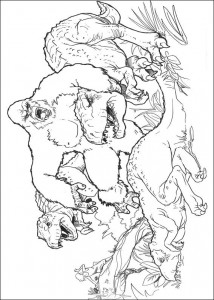 boyama kitabı King Kong (13)