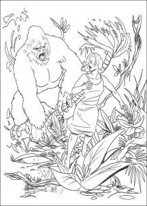 boyama kitabı King Kong (6)